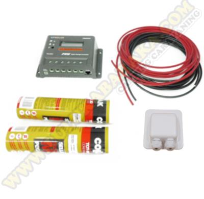 Kit montaje para placa semiflexible 10A LCD