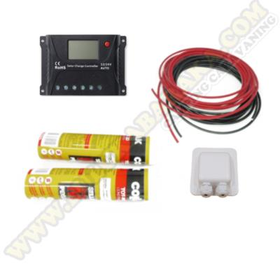 Kit montaje para placa semiflexible 20A LCD