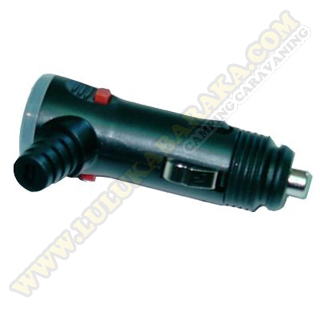 Conector Mechero con fusible 10Amps interruptor
