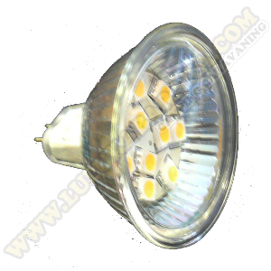 Led MR-16 10SMD WW