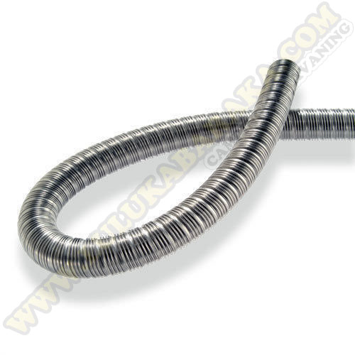 Tubo escape flexible inox. 24mm.